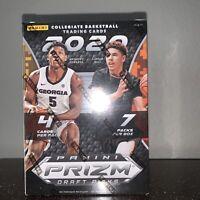 2020-21 Panini Prizm Collegiate Draft Picks Basketball Blaster Box New Sealed