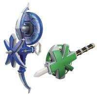Bandai Samurai Sentai Shinkenger Water Arrow & Wood Spear Set w/ Tracking NEW