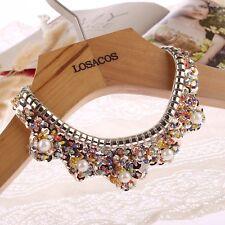 Fashion Gift For Women/Girl Sequin Pearl Collar False Collar Necklace Choker