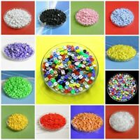 200 Wholesale Lot Tiny Mini Micro Small Figures Doll Clothes Sewing Buttons 5mm