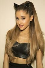 A Ariana Grande Sexy Teen With Black Outfit 8x10 Picture Celebrity Print