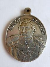 Ovale Major von Lützow Medaille --1813 - 1913--