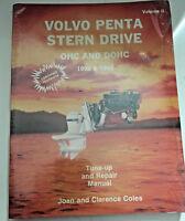 Volvo Penta STERN DRIVE OHC  DOHC Stern Drive 1992-1993 Tune up & repair vol II