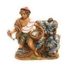 Fisherman Figurine Nativity Scene Presepio Figura Pesebre Nacimientos Belen