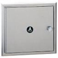Bobrick B505 Recessed Specimen Pass-Thru Cabinet, For Public Restrooms