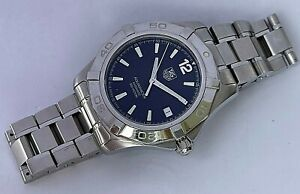 TAG Heuer Aquaracer Automatic stainless steel Divers mens date watch, WAF2110