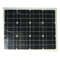 20W/40W 18V Solar Panel for 12v Battery Flexible Camping/Hiking USB Boat Home RV