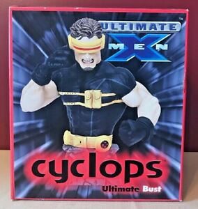2002 Ultimate X-Men Cyclops Bust NEW IN SEALED BOX