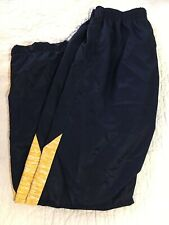 Varsity Spirit Fashion Cheer Cheerleading Warm Up Pants Medium M-30 Blue Zippers