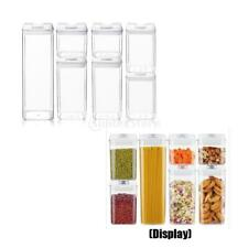 Airtight Food Storage Container Set - 7 PC Set - Labels & Marker