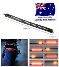 Motorcycle LED Tail Light, Brake And Signals Flexible Rubber Strip.  All In One