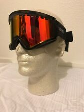 Electric EGV Gloss Black Snowboard Ski Goggles Brose/Red Chrome