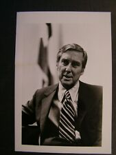 Glossy Press Photo Senator Lloyd M Bentsen