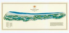 The Ocean Course @Kiawah - 1991 - Pete Dye - Vintage Golf Course Map