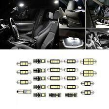 23Pcs LED White Car Inside Light Dome Trunk License Plate Lamp Interior Bulb Kit
