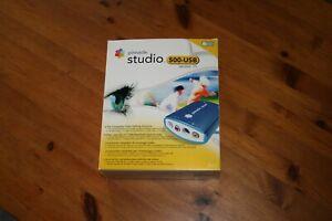 Pinnacle Studio Moviebox 500 USB Version 10 mit FireWire-Anschluss (IEEE 1394)
