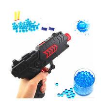 Water Crystal Gun 2in1 Air Soft Gun Soft Bullet Gun Pistol Toy CS Game Toy Gift