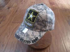 U.S Army Star Logo Camouflage Hat Cap Official Licensed Product