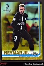 2018-19 Topps Chrome UEFA Champions League Gold Refractors #50 Neymar Jr. 38/50