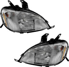 Headlights Assembly (w/Bulb) NEW Pair Set for 98-01 Mercedes-Benz ML320 ML430