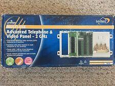 Leviton 47606-Aht Multi-Use Adv Cat5e Telephone & Video Panel - 2Ghz- Coax Cable