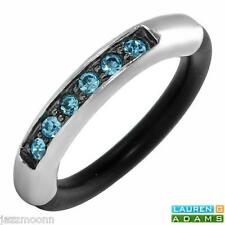 UNIQUE SKY BLUE STONE-STERLING SILVER-RING