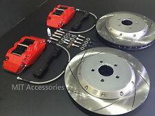 "MIT FORD FOCUS 2012+ Brake pad kit disc 330mm 13"" rotors 4 piston calipers REAR"