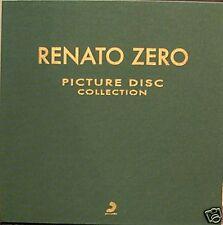 """RENATO ZERO - picture disc collection box 6 LP + 45"""""""