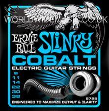 1 Set di Ernie Ball Slinky Extra cobalto 8 - 38 Chitarra elettrica stringhe (2725)