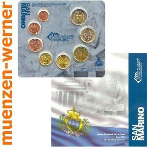 offizieller Kursmünzensatz San Marino 2012 alle 8 Münzen Satz Euro•Münze•KMS