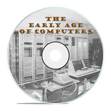 THE EARLY AGE OF COMPUTERS - PC COMPUTER HISTORY BIG MAINFRAMES FILMS -J61