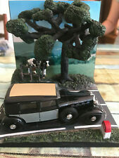Voiture Miniature Diorama Campagne N15 + Renault Reinastella Solido au 1/43