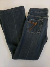 7 For All Mankind Dojo Jeans Size 26 Wide Leg Bootcut