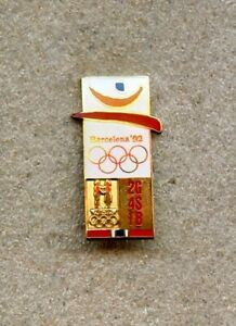 1992 Barcelona NOC Norway OLYMPIC Games Pin Enamel LOGO