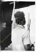 Original Photo MADAGASCAR 1948 Ambositra chez le coiffeur n85
