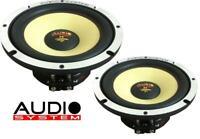 Audio System AX 165-2 EVO 2 Tief Mitteltöner Midrange Lautsprecher 16,5cm NEU