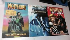 MARVEL Comics wolverine TPB lot #'s 1 2 3 2003 gn trade paperback set movie!