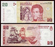 Argentina - 20 Pesos ND 2015 Pick 355(6)  SC = UNC