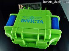 Invicta 1 Slot Impact Case Green & Blue VERY RARE