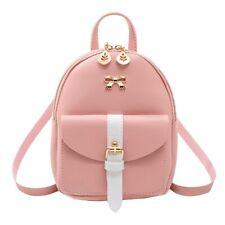 Women's Mini Backpack Luxury PU Leather Kawaii Backpack Cute Graceful Bagpack Sm