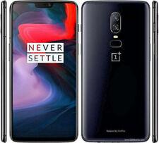 OnePlus 6 - (Dual SIM) 64 ГБ-зеркало, черный (разблокированный) смартфон