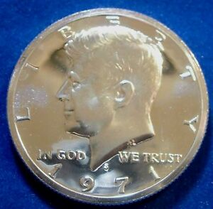 1971-S San Francisco Mint Kennedy Half Dollar Proof