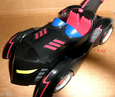 BATMOBILE batman BRAVE AND THE BOLD car VEHICLE + 2 figure TOY clock king DC UNI
