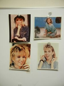 Lot of 4 Debbie Gibson Photos MINT