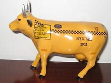 cow parade taxi cow by westland #9160