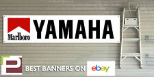 Marlboro Yamaha Racing BANNER for GARAGE WORKSHOP Pit lane R1 R6 FZR RD350 TZR