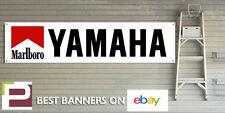 Marlboro Yamaha Racing BANNER for GARAGE WORKSHOP Pit lane R1 R6 FZR RD350 TZR