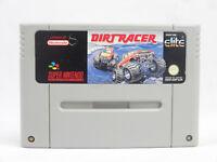 SNES Super Nintendo Dirt Racer Cartridge PAL