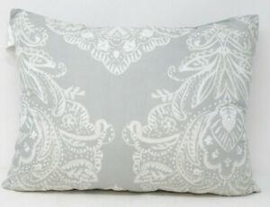 Cambridge 12-Inch x 16-Inch Decorative Throw Pillow in Gray White