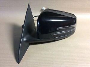 Mercedes CLA 220 CDI AMG 2014 Complete Left Side Wing Mirror Black E1021047